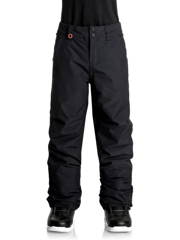 0 Estate Snow Pants Black EQBTP03013 Quiksilver