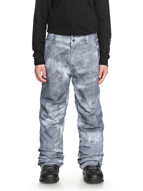 0 Boy's 8-16 Estate Snow Pants Black EQBTP03018 Quiksilver