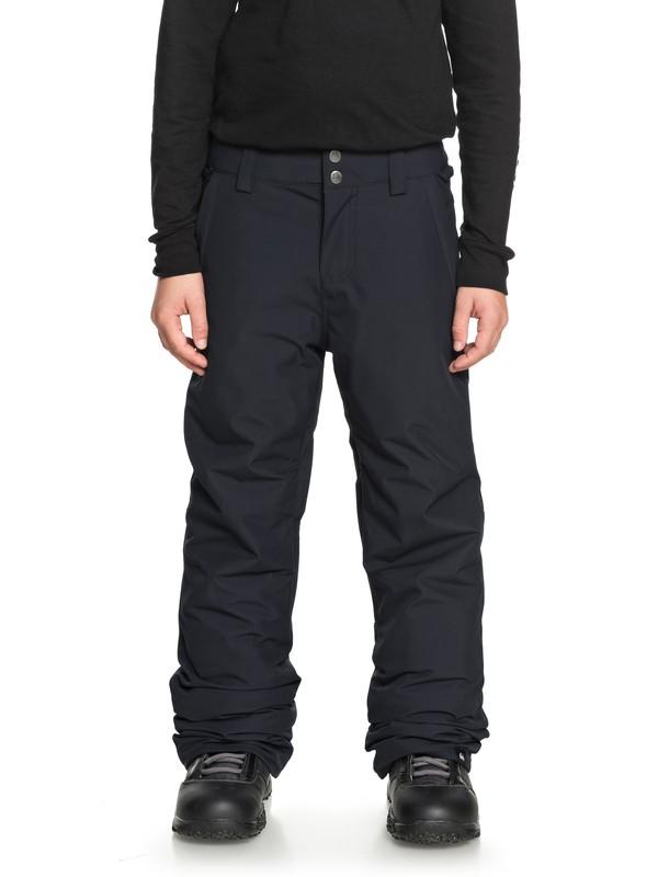 0 Сноубордические штаны Estate Черный EQBTP03018 Quiksilver