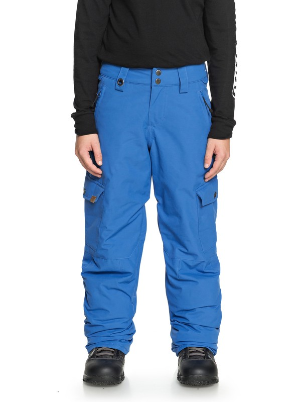 0 Boy's 8-16 Porter Snow Pants Blue EQBTP03022 Quiksilver