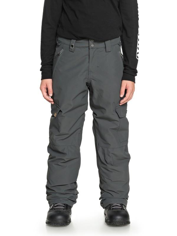 0 Boy's 8-16 Porter Snow Pants Black EQBTP03022 Quiksilver