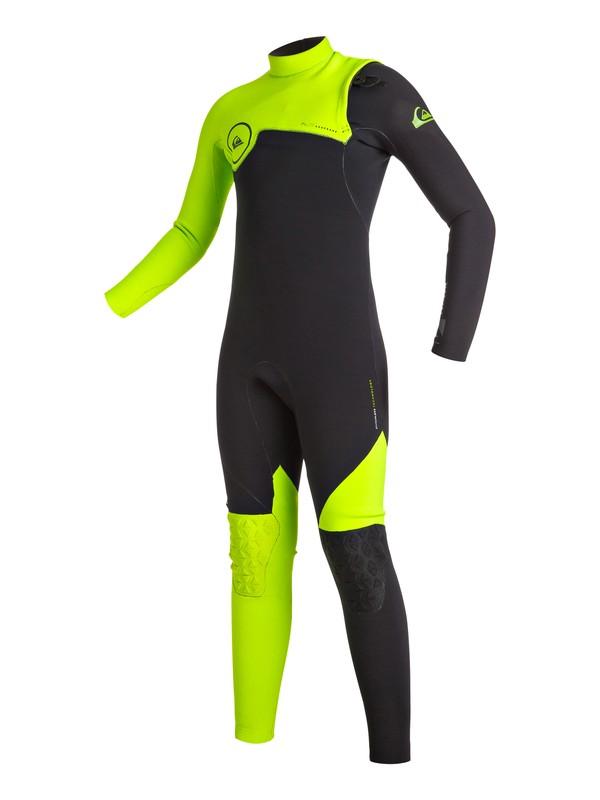 0 Highline Zipperless 3/2mm - Combinaison de surf intégrale sans zip Vert EQBW103004 Quiksilver