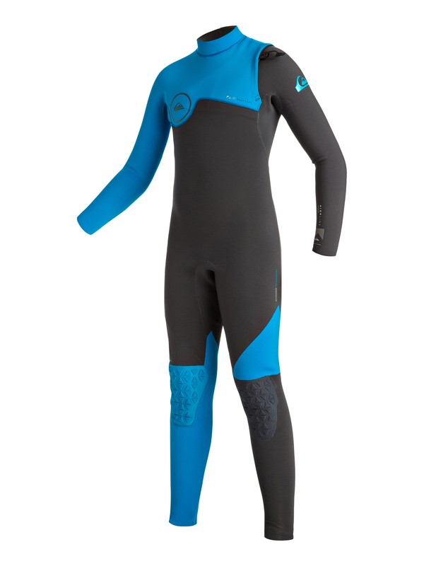 0 Boy's Highline Zipperless 3/2mm Zipperless Full Wetsuit  EQBW103004 Quiksilver
