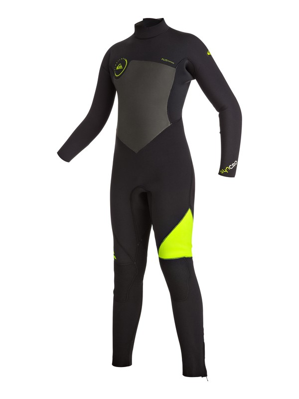 0 Syncro 5/4/3mm - Back Zip Full Wetsuit  EQBW103009 Quiksilver