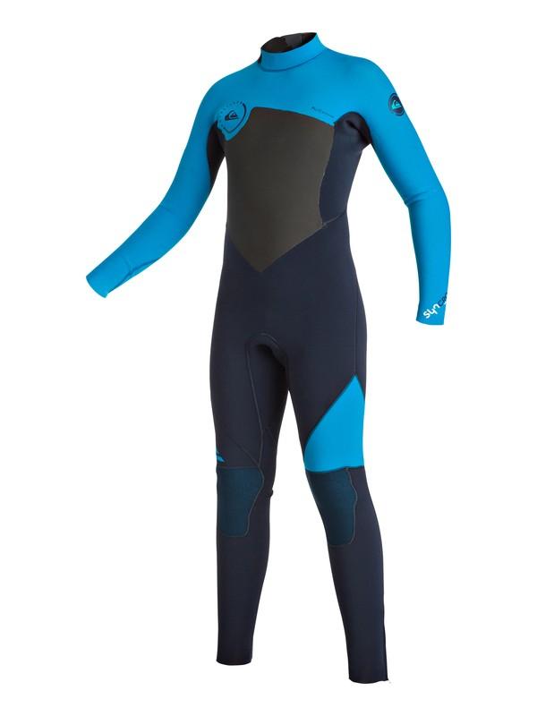 0 Syncro 4/3mm - Back Zip Full Wetsuit  EQBW103011 Quiksilver