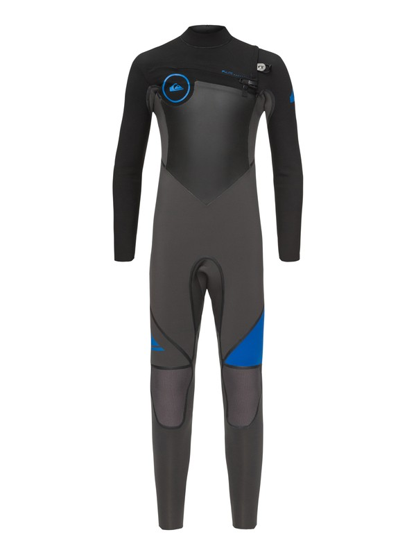 0 Boy's 8-16 3/2mm Syncro Plus Chest Zip Wetsuit  EQBW103026 Quiksilver