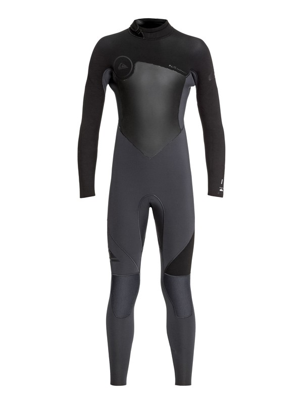 0 Boy's 8-16 5/4/3mm Syncro Series Back Zip GBS Wetsuit Black EQBW103030 Quiksilver