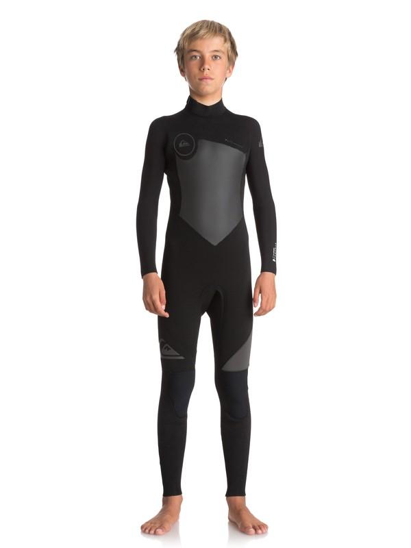 0 Boy's 8-16 5/4/3mm Syncro Series Back Zip GBS Wetsuit  EQBW103030 Quiksilver
