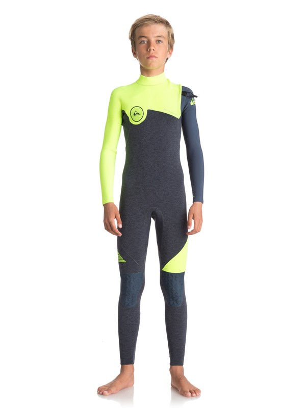 0 4/3mm Highline Series Zipperless Wetsuit  EQBW103033 Quiksilver