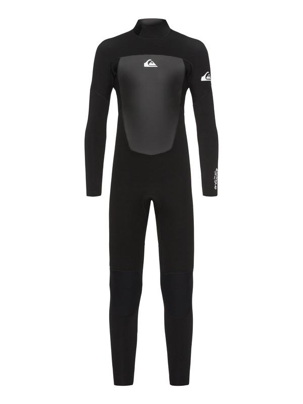 0 3/2mm Prologue Back Zip Wetsuit Black EQBW103039 Quiksilver