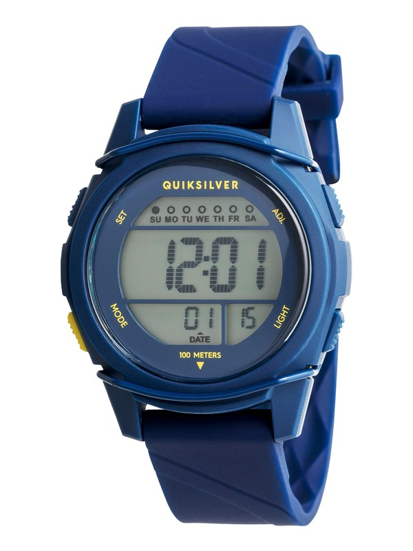 0 Stringer S - Digital Watch for Boys 8-16 Blue EQBWD03004 Quiksilver