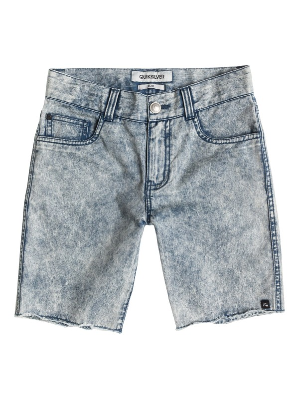 0 Le Fiver Acid Wash Aw Youth  EQBWS03011 Quiksilver