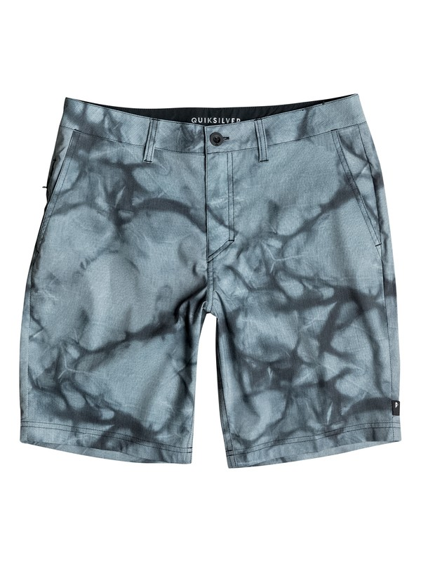 "0 Boy's 8-16 High Dye 16"" Amphibian Shorts  EQBWS03124 Quiksilver"