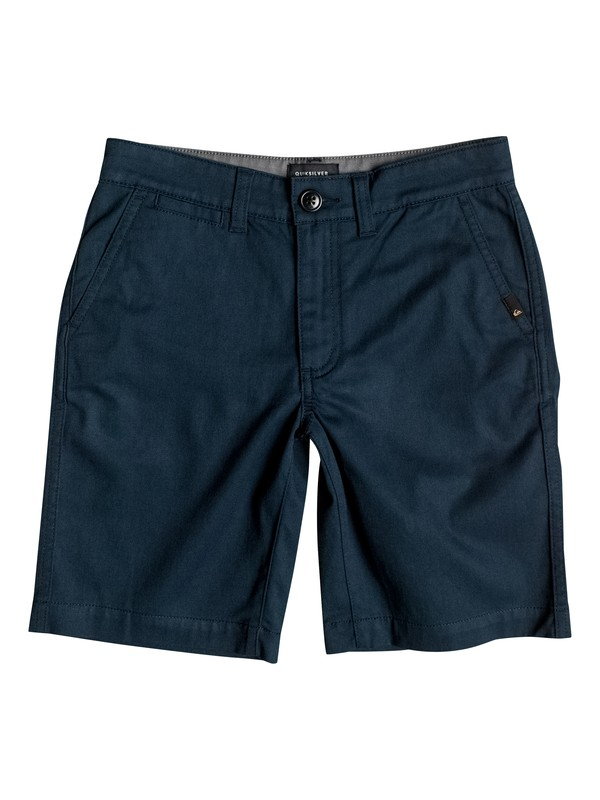 0 Boy's 8-16 Everyday Union Stretch Chino Shorts Blue EQBWS03125 Quiksilver