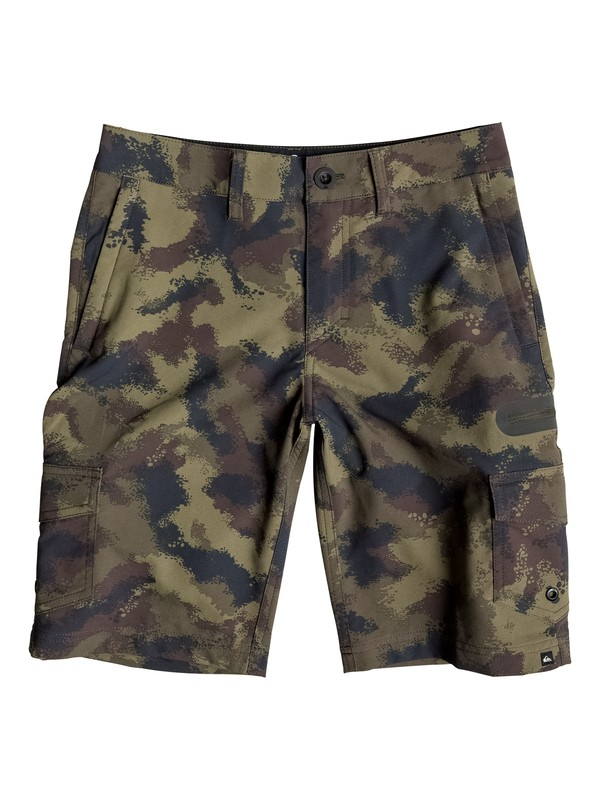 "0 Boy's 8-16 Utilitarion Amphibian 19"" Shorts  EQBWS03131 Quiksilver"