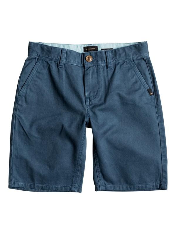 0 Everyday - Chino Shorts Blau EQBWS03156 Quiksilver