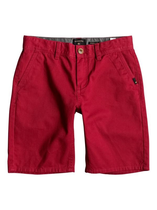 0 Everyday - Chino Shorts Rot EQBWS03156 Quiksilver