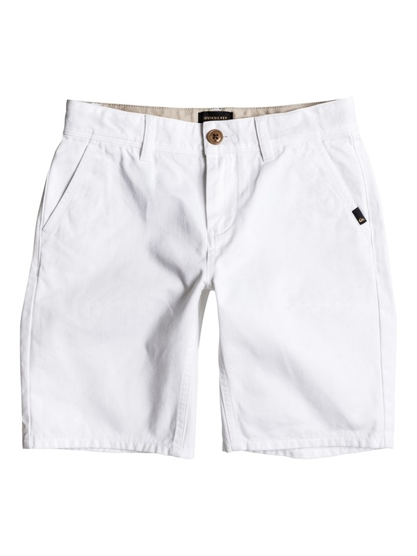 0 Everyday - Short en sergé Blanc EQBWS03156 Quiksilver