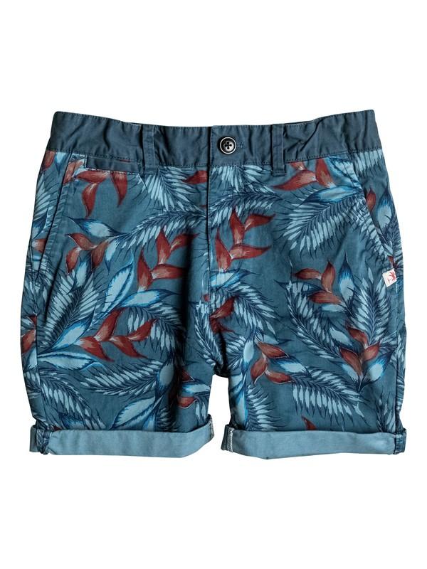 0 Paradise Point - Chino Shorts Blau EQBWS03166 Quiksilver