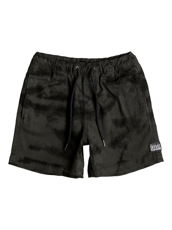 0 Boy's 8-16 Battered Tie Dye Shorts  EQBWS03173 Quiksilver