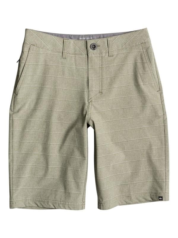 "0 Boy's 8-16 Lines Amphibian 19"" Amphibian Shorts  EQBWS03191 Quiksilver"