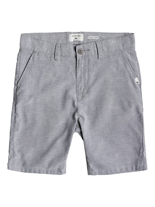 0 Boy's 8-16 Krandy Oxford Shorts  EQBWS03208 Quiksilver