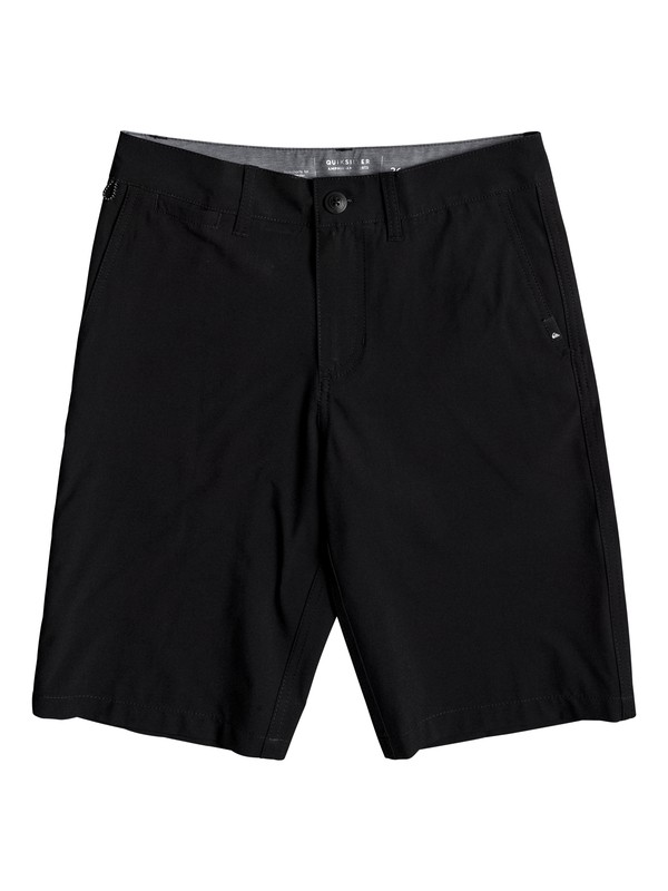 "0 Boy's Union Amphibian 19"" Shorts Black EQBWS03211 Quiksilver"