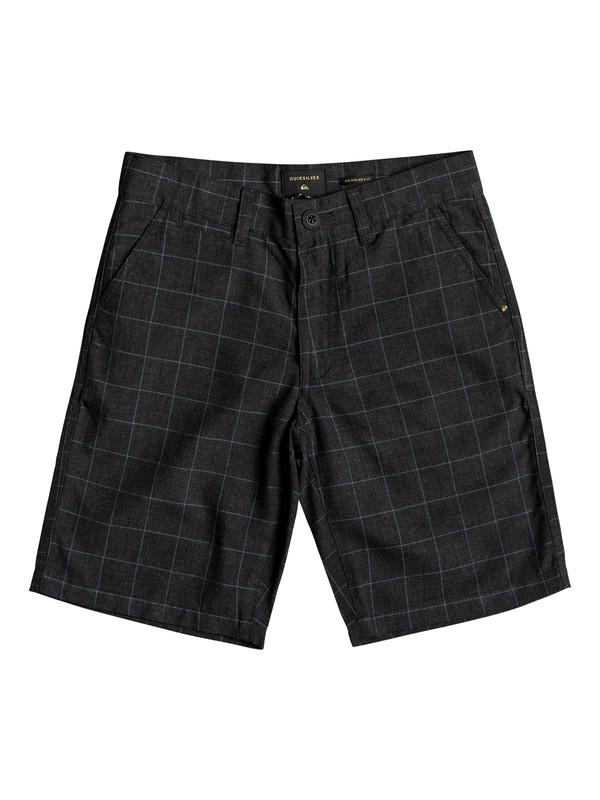 0 Boys 8 -16 Regeneration Chino Shorts Black EQBWS03220 Quiksilver