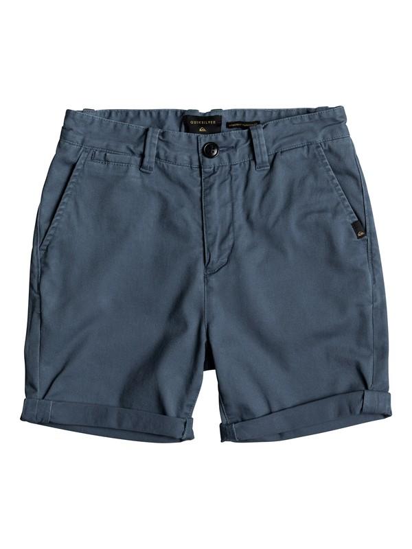 0 Krandy - Chino Shorts for Boys 8-16 Blue EQBWS03221 Quiksilver