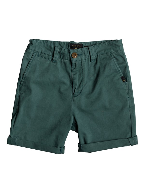 0 Krandy - Chino Shorts for Boys 8-16 Green EQBWS03221 Quiksilver