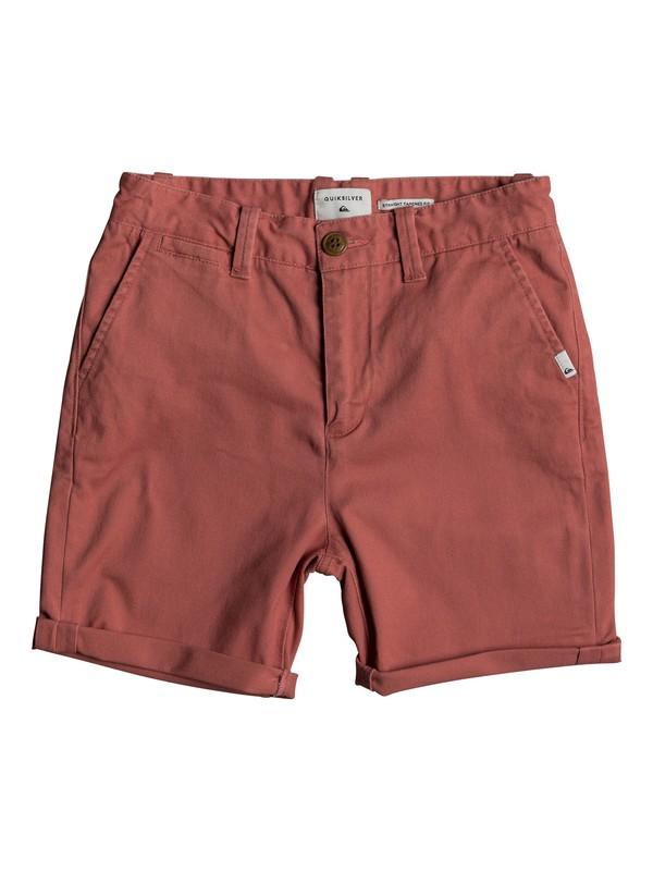 0 Krandy - Chino Shorts for Boys 8-16 Pink EQBWS03221 Quiksilver