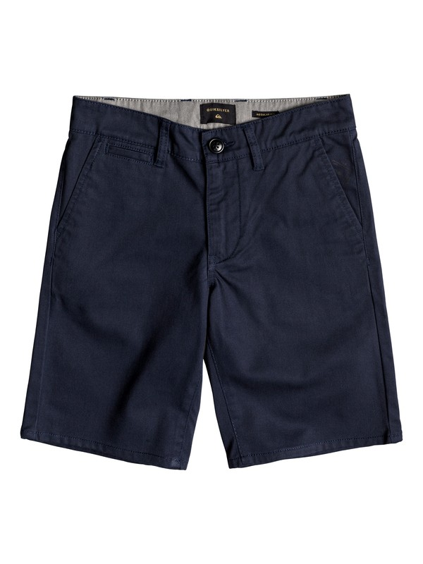 "0 Shorts tipo Chino New Everyday Union 17"" Azul EQBWS03223 Quiksilver"