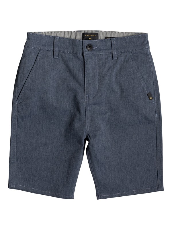 0 New Everyday Union - Chino Shorts Blue EQBWS03223 Quiksilver