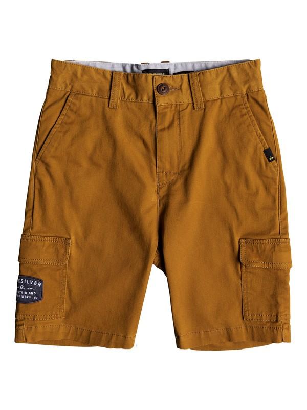 0 Kapatenga - Cargo Shorts for Boys 8-16 Brown EQBWS03227 Quiksilver