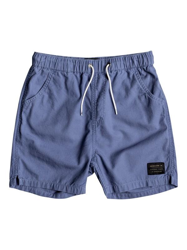 0 Wapu Street - Shorts for Boys 8-16 Blue EQBWS03231 Quiksilver