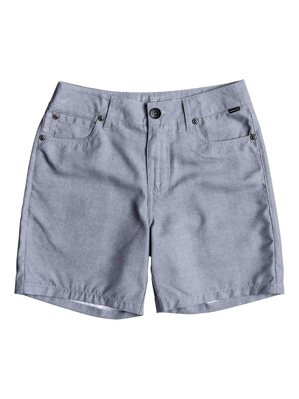 "0 Nelson 15"" - Amphibian Board Shorts for Boys 8-16 Blue EQBWS03239 Quiksilver"