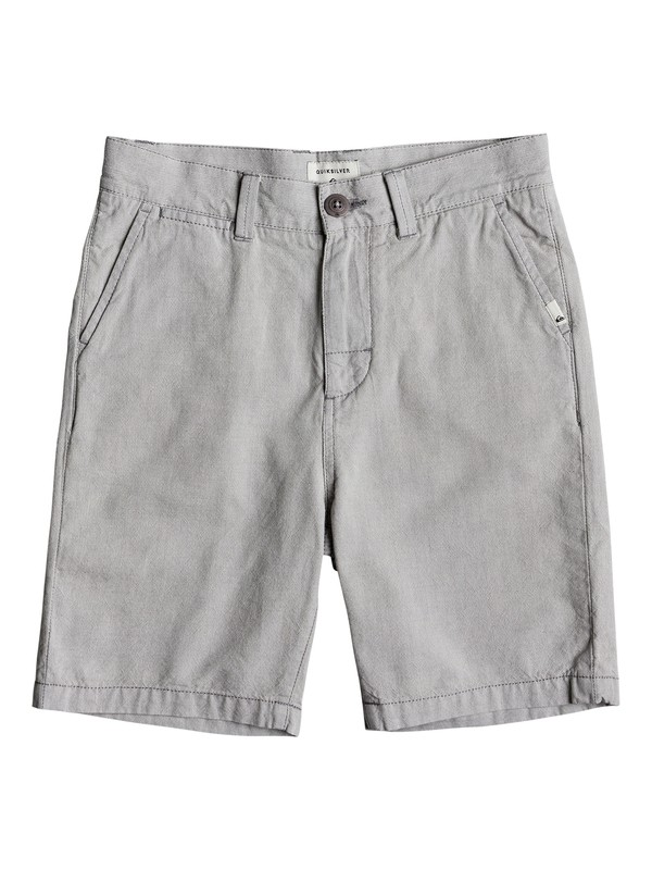0 Boys 8 -16 Krandy Oxford Chino Shorts Black EQBWS03243 Quiksilver