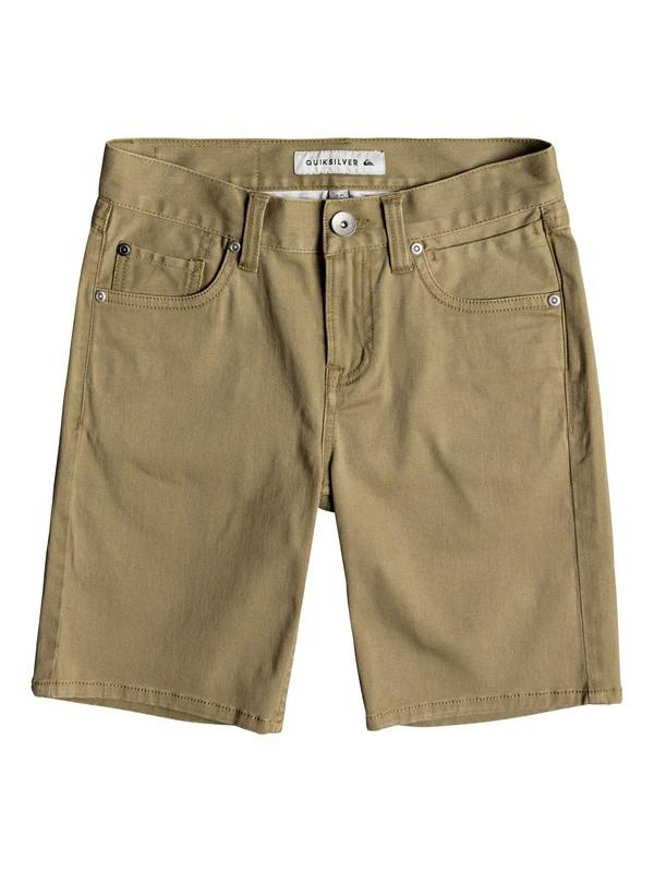 0 Boys 8-16 Lygon - Shorts Beige EQBWS03244 Quiksilver