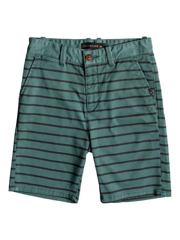 0 Waiku Plan Stripe - Shorts Green EQBWS03246 Quiksilver