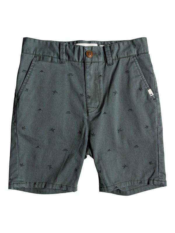 0 Boy's 8-16 Krandy Fuji Chino Shorts Blue EQBWS03257 Quiksilver