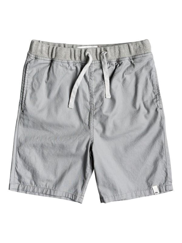 0 Boy's 8-16 Seaside Coda Shorts Grey EQBWS03272 Quiksilver
