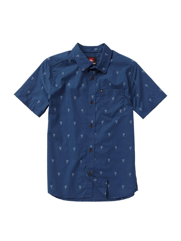 0 Boys 8-16 Beacons Short Sleeve Shirt  EQBWT00003 Quiksilver