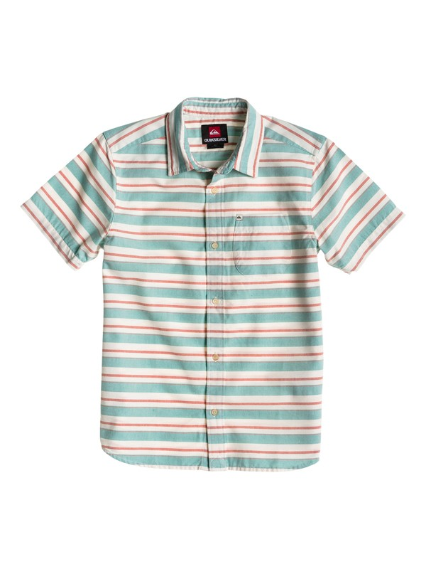 0 Boys 8-16 Haano Short Sleeve Shirt  EQBWT00008 Quiksilver