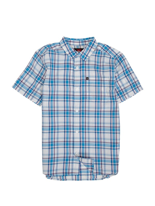 0 Boys 8-16 Engineer Pat Shirt  EQBWT00039 Quiksilver