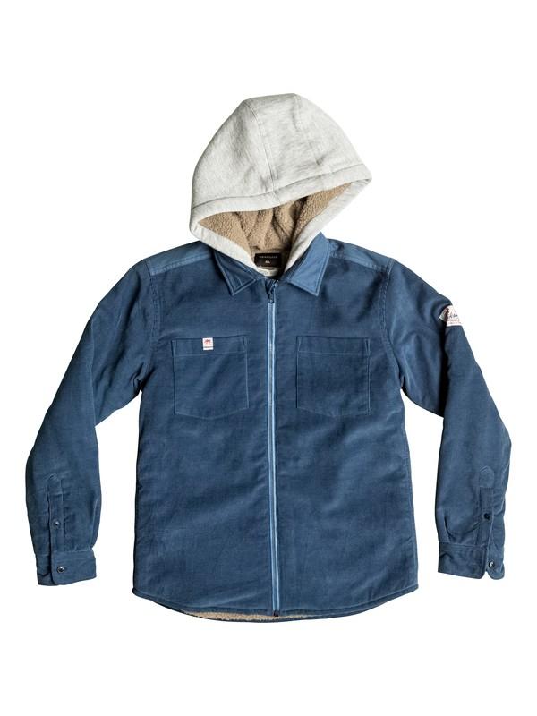 0 Fake Ethics - Veste chemise zippée  EQBWT03102 Quiksilver
