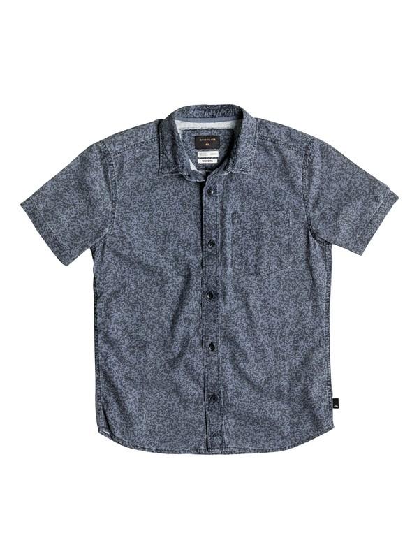 0 Boy's 8-16 Bad Channel Short Sleeve Shirt  EQBWT03117 Quiksilver