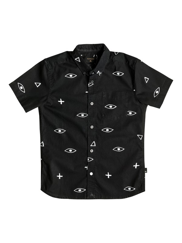0 EYE FOR AN EYE SHIRT SS YOUTH  EQBWT03124 Quiksilver