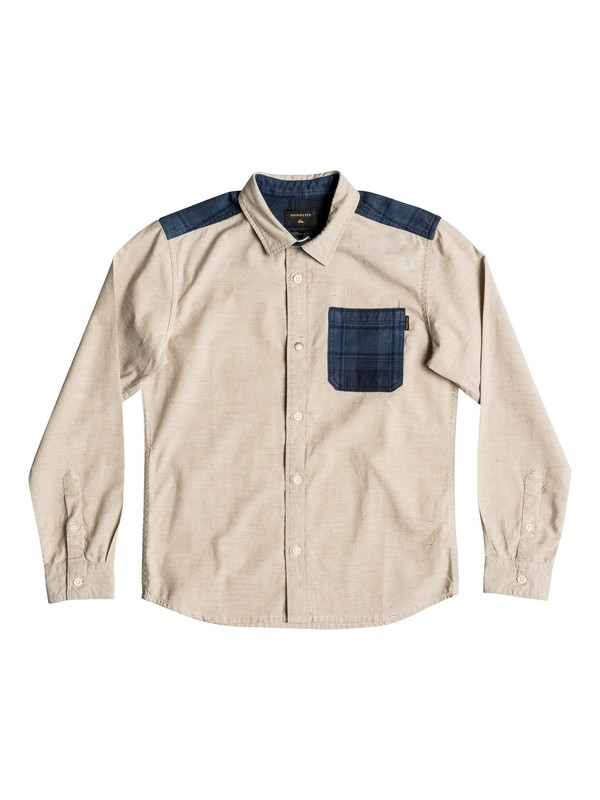 0 Turn It Up - Chemise à manches longues  EQBWT03143 Quiksilver