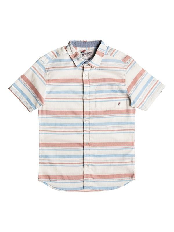 0 Boy's 8-16 Aventail Short Sleeve Shirt  EQBWT03151 Quiksilver