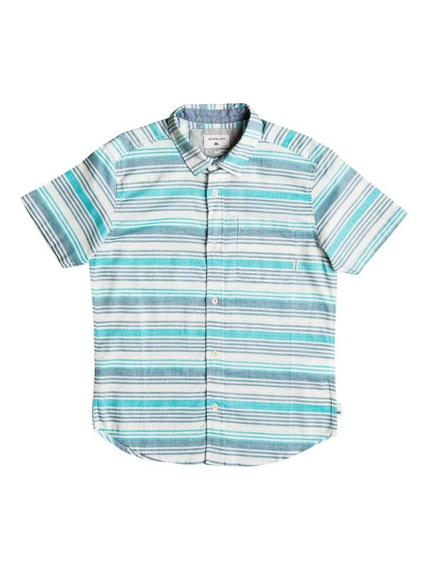 0 Boy's 8-16 Aventail Short Sleeve Shirt  EQBWT03171 Quiksilver